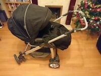 Silver Cross Linear Freeway jet sport travel system/pram/pushchair