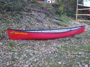 16 ft. Canoe just 1 season old lower price