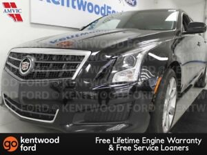 2014 Cadillac ATS ATS AWD 2.0T with heated power leather seats,