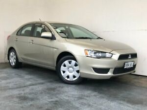 2009 Mitsubishi Lancer CJ MY10 ES Sportback Gold 6 Speed Constant Variable Hatchback Mount Gambier Grant Area Preview