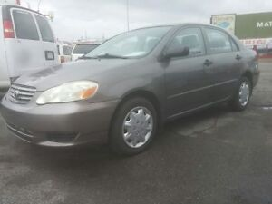 2004 TOYOTA COROLLA AUTOMATIC  GROUP ELECTRIC REMOTE EXTRA CLEAN