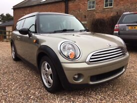 2008 Mini Cooper Clubman with Chilli Pack just 54k miles
