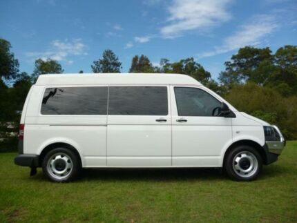 2011 Volkswagen Transporter T5 MY11 TDI400 White 7 Sports Automatic Dual Clutch Van Erina Gosford Area Preview