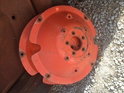 Allis Chalmers C Tractor Original Ac Rear Cast Wheel Hub Axle Center Hubs