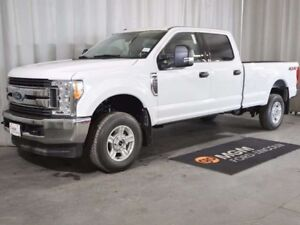 2017 Ford F-250 XLT 4x4 SD Crew Cab 8 ft. box 176 in. WB