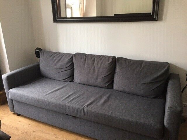 Surprising Sofa Bed Friheten Three Seat Sofa Bed In East Finchley London Gumtree Evergreenethics Interior Chair Design Evergreenethicsorg