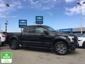 2015 Ford F-150 Lariat Crew 4x4 (Nav, Colored Touch, Pan Sunroof