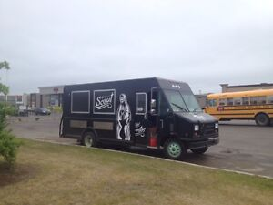 Fully Converted Food Truck