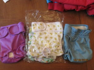 Diapers for dogs