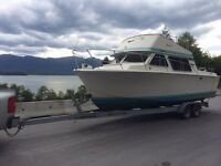 26Ft Tollycraft with trailer