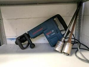 HOC - BOSCH 11316EVS DEMOLITION JACK HAMMER + 2 INCH HOLE SAW + 90 DAY WARRANTY + FREE SHIPPING