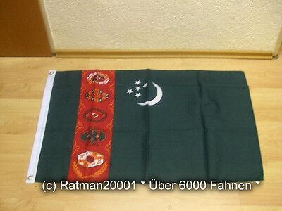 Fahnen Flagge Turkmenien - 60 x 90 cm
