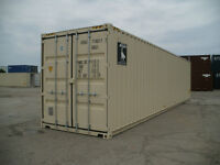 Seacans, Secure Storage - Used 40' $3000,20' $2600,New 20' $3950