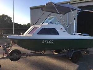 1980 Nova 4.3m Cuddy Cabin with Evinrude 50hp Lonsdale Morphett Vale Area Preview