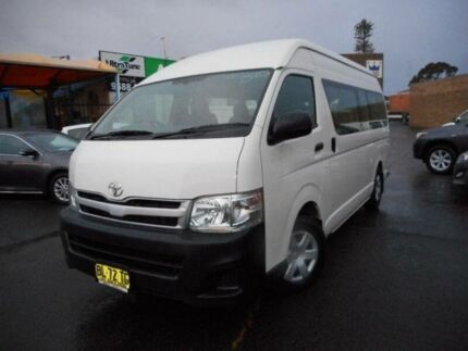 2011 Toyota Hiace KDH223R MY11 Upgrade Commuter French Vanilla 4 Speed Automatic Bus Allawah Kogarah Area Preview