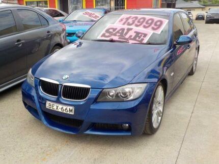 2008 BMW 320i Blue Automatic Sedan