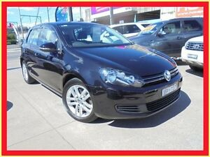 2010 Volkswagen Golf VI MY11 118TSI Comfortline Black 7 Sports Automatic Dual Clutch Hatchback Holroyd Parramatta Area Preview