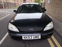 FORD MONDEO 2.0 LX 5 DOOR HATCHBACK 53 REG,, IDEAL FAMILY RUNABOUT,, MOT JANUARY 20TH 2019