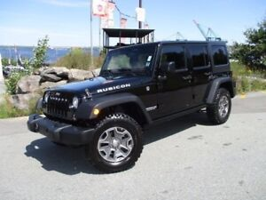 2017 Jeep WRANGLER RUBICON UNLIMITED (ONLY 9000 KMS! 4X4, 3.6L V