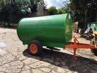 ROPS Diesel Bowser 2000ltr 500Gal Towable