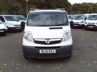 Vauxhall Vivaro LWB 2.0 CDTI 115ps 2.9t Van DIESEL MANUAL WHITE (2014)