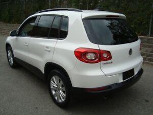 2010 Volkswagen TIGUAN 4MOTION COMFORTLINE
