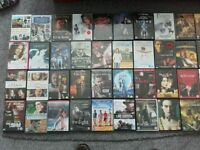 90 x DVD's. All types. All Ages. Action. Horror. Childrens. Love. War.