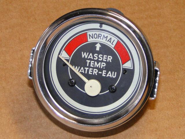 Fernthermometer Ø60 elektrisch für wassergekühlte Motoren Traktoren Schlepper 02 Foto 1
