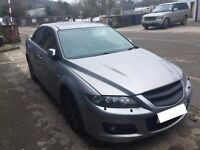mazda 6 mps 2.3 turbo 260bhp 4x4 2006 reg 6 speed manual very rare car and very quick car