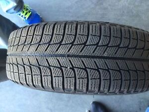 265/95r15 Winter michelin tires with Steel rims