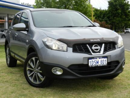 2011 Nissan Dualis J10 Series II MY2010 Ti Hatch X-tronic Grey 6 Speed Constant Variable Hatchback Victoria Park Victoria Park Area Preview