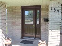 "5"" & 6"" Seamless Eaves, Siding, Soffit, Stone, Windows, Doors"