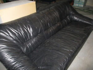 Are you looking for a good leather couch? Cheap, $100 OBO