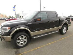 2013 Ford F-150 SuperCrew 4x4 LARIAT ECOBOOST