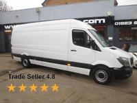 2015 Mercedes-Benz Sprinter 313 2.2CDi 129ps LWB High Roof E/W Diesel white Manu