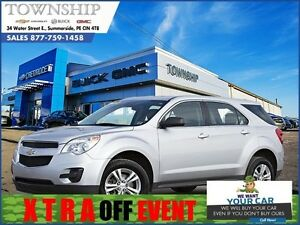 2013 Chevrolet Equinox LS - $9/Day - Front Wheel Drive - Great o