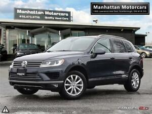 2016 VOLKSWAGEN TOUAREG 3.6L AWD  NAV CAMERA LEATHER PANO 1OWNER