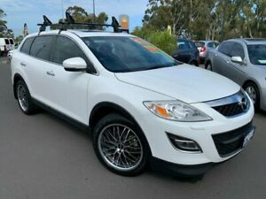 2012 Mazda CX-9 TB10A4 MY12 Luxury White 6 Speed Sports Automatic Wagon East Bunbury Bunbury Area Preview
