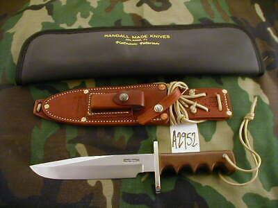 RANDALL KNIFE KNIVES VIETNAM VETERAN #113 of 500 MADE #A2952