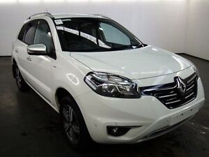 2015 Renault Koleos H45 Phase III Bose SE (4x2) Solid White Continuous Variable Wagon Albion Brimbank Area Preview