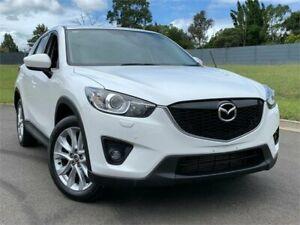 2014 Mazda CX-5 KE1021 MY14 Grand Touring SKYACTIV-Drive AWD Crystal White 6 Speed Sports Automatic