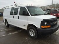 2006 CHEVROLET EXPRESS 2500 -COMES WITH A LADDER RACK & SHELVING