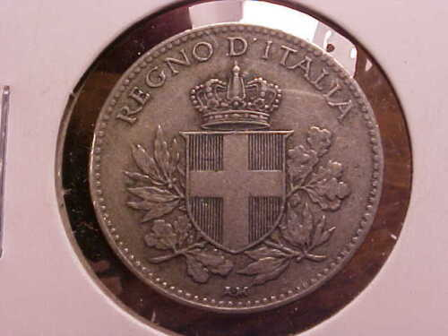 1918-R Italy 20 Centesimi