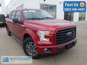 2015 Ford F-150 XLT SUPERCREW HEAT SEATS 4X4 BLUETOOTH ECOBOOST