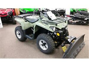 CAN-AM PLOW PACKAGE( $46.00 )TAX IN WEEKLY o.a.c only 1 IN STOCK