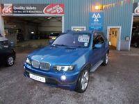 BMW X5 4.6 IS 5d AUTO 342 BHP ESTORIAL BLUE/ SAT NAV (blue) 2002