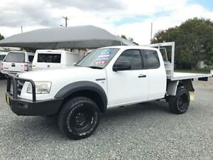 2008 Ford Ranger PJ 07 Upgrade XL (4x4) White 5 Speed Manual Super Cab Chassis Gloucester Gloucester Area Preview