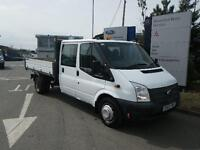 Ford Transit 2.2TDCi ( 125PS ) ( EU5 ) ( RWD ) Double Cab C 350 LWB TIPPER