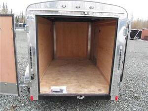 PRE-OWNED 5' x 8' CARGO TRAILER Prince George British Columbia image 3