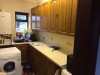 Solid Oak Door kitchen storage units